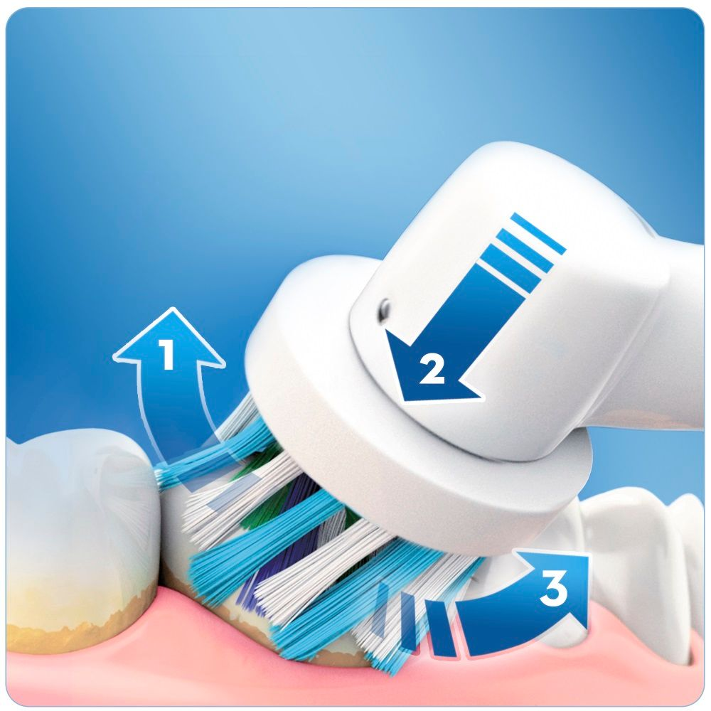 Elektrický zubní kartáček Oral-B Smart 5900 Cross Action duo handle