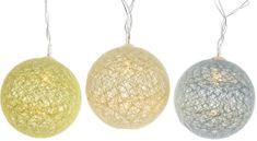 Kaemingk LED dekorační koule zelené 180 cm