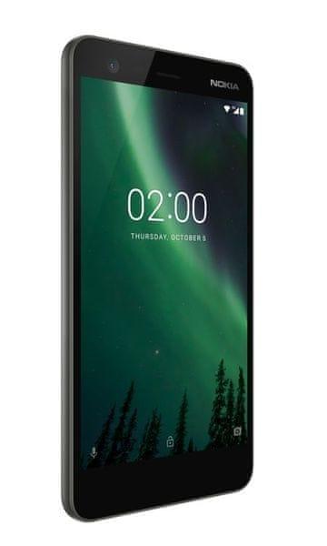 Nokia 2, Dual SIM, Black