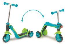 Smoby Roller 2in1 kék, 3 kerék