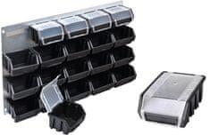 PATROL ściana warsztatowa FX Metal Profi 600 czarna