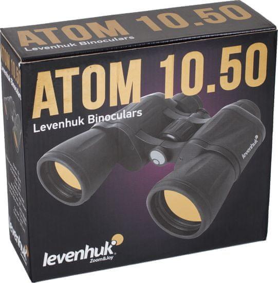 Levenhuk messzelátó 10x50 Atom