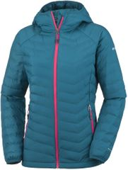 Columbia jakna Powder Lite Hooded, modra