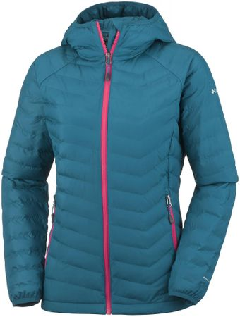 Columbia jakna Powder Lite Hooded, modra XS