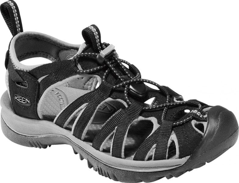 KEEN Whisper W Black/Gargoyle US 11 (42 EU)