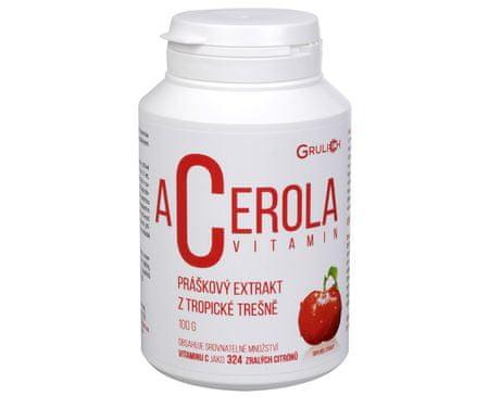 Grulich Acerola vitamín 100 g