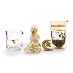 Phoenix Division Vánoční balíček bylinná čajová směs TAIMINTTEA 50 g a hrníček Hannasaki
