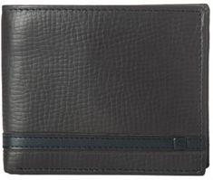 Rip Curl moška denarnica Overlap Rfid 2 In 1, črna