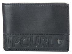 Rip Curl moški denarnica črna Undertow Rfid Slim - odprta embalaža