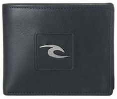 Rip Curl moški denarnica črna Rider RFID 2 in 1