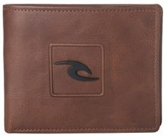 Rip Curl moški denarnica rjava Rider RFID 2 in 1