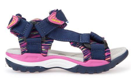 Geox dekliški sandali Borealis, modri, 37