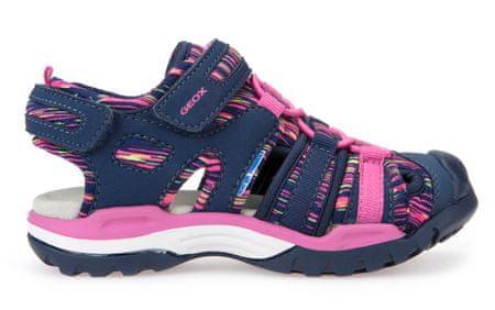 Geox dekliški sandali Borealis, modri, 28