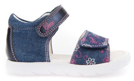 Geox dívčí sandály Alul 21 modrá