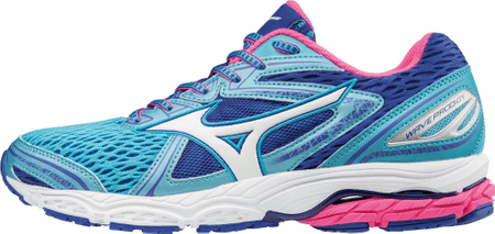 Mizuno Wave Prodigy Aquarius/White/Pinkglo 41.0