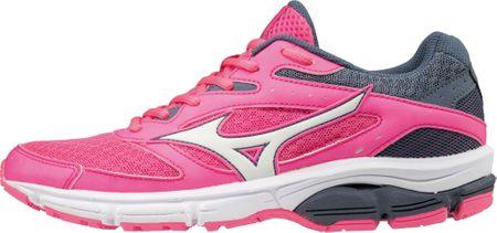 Mizuno ženske superge Wave Surge Pinkglo/White/Folkstonegry, roza, 38,5