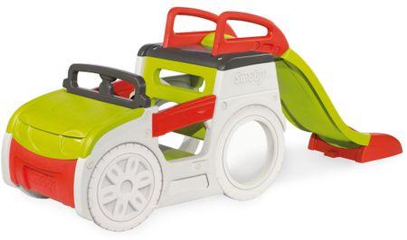 Smoby avto peskovnik s toboganom, 150 cm