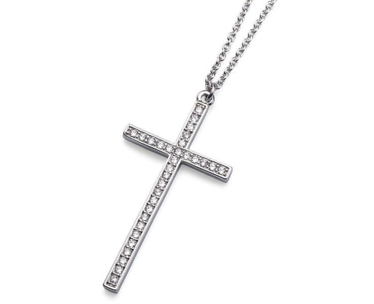 Oliver Weber Trendy náhrdelník s křížkem 11638R