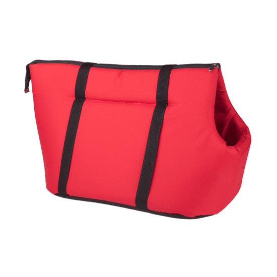 Argi prijenosna torba za psa, poliester, crvena