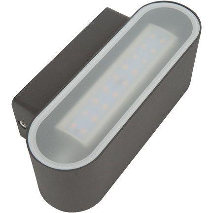 Smartwares lampa zewnętrzna LED ścienna (10.027.26)