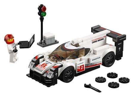 LEGO dirkalni avto Porsche 919 Hybrid, Speed Champions 75887