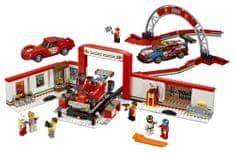 LEGO Speed Champions 75889 Rewelacyjny warsztat Ferrari