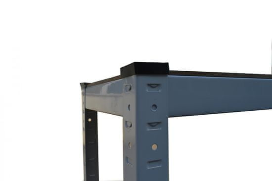 J.A.D. TOOLS Policový regál kovový 90x60x180 cm SOLID (T12045)