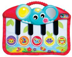 Playgro klavirček in podlaga z lučko in glasbo