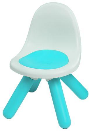 Smoby stolček z naslonjalom, moder