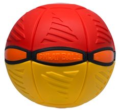 EP Line Phlat Ball V3 - červená / žlutá