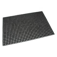 FLOMAT Gumová vstupní čistící rohož na hrubé nečistoty Honeycomb - 150 x 100 x 1,6 cm