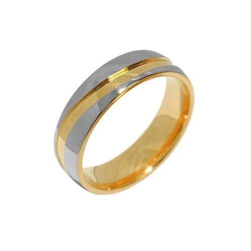 Silvego Snubní ocelový prsten pro muže a ženy MARIAGE RRC2050-M (Obvod 70 mm)