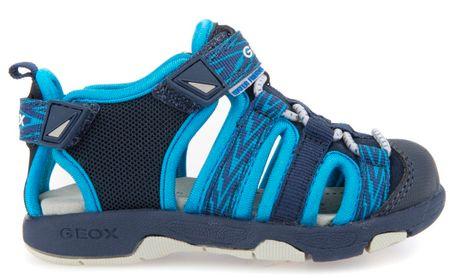 Geox sandały chłopięce Multy 20 niebieski
