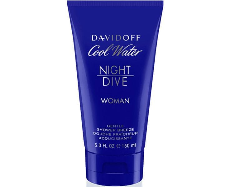 Davidoff Cool Water Night Dive For Women - sprchový gel 150 ml pro ženy