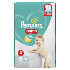 Pampers hlačne plenice Pants Active Baby Giant Pack S4, 62 kosov