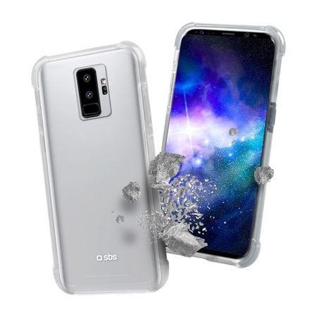 SBS ovitek proti udarcem za Samsung Galaxy S9 Plus, prozoren