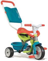 Smoby tricikel Be Move Confort, modro-zelen