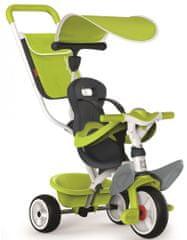 Smoby tricikel Baby balade 2, zelen - odprta embalaža
