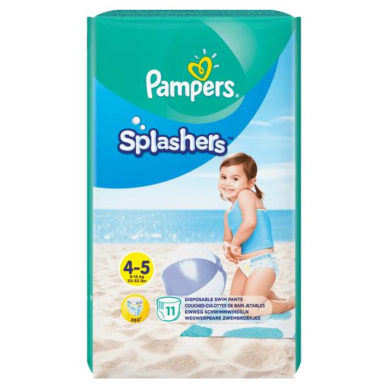 Pampers Pieluchomajtki Splashers 4-5 (9-15 kg) 11 szt.