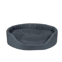 Argi Pelech pro psa oválný s polštářem - grafitově šedá