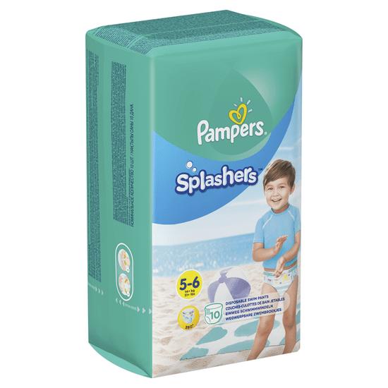 Pampers Splashers Plenkové kalhotky do vody 5-6 (14+ kg) 10 ks