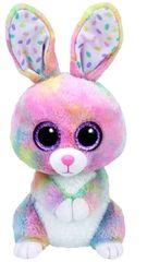 TY igrača Beanie Boos BUBBY - barviti zajček, 24 cm