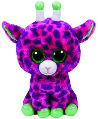 TY igrača Beanie Boos GILBERT - roza žirafa, 24 cm