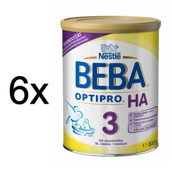 Nestlé BEBA OPTIPRO HA 3 - 6x800g