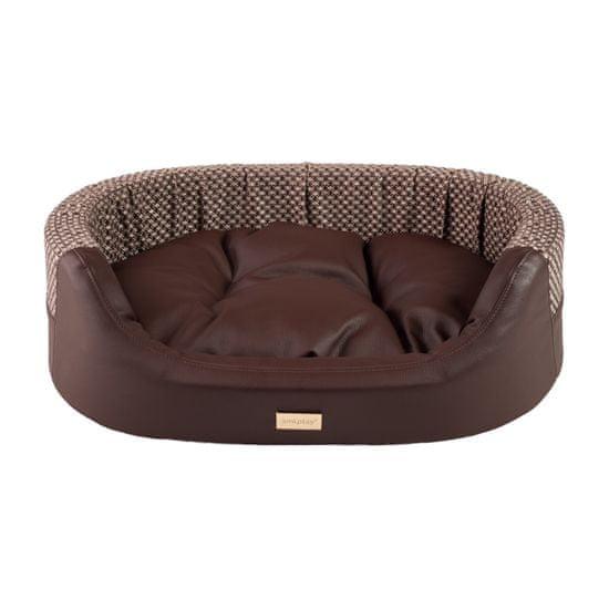 Argi ovalni jastuk za psa - Morgan - smeđa