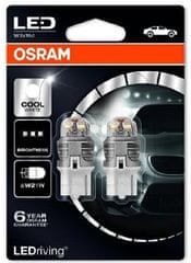 Osram Žárovka typ W21W, 12V, 3W LED, Ledriving