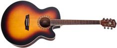 Washburn WJ7SCEATBM-O-U Elektroakustická kytara