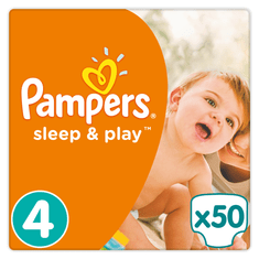 Pampers Sleep & Play Value Pack S4 50ks