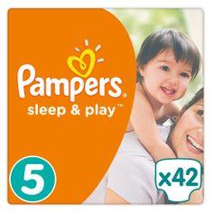 Pampers Sleep&Play 5 Junior Economy Pack Pelenka, 11-25 kg, 42 db