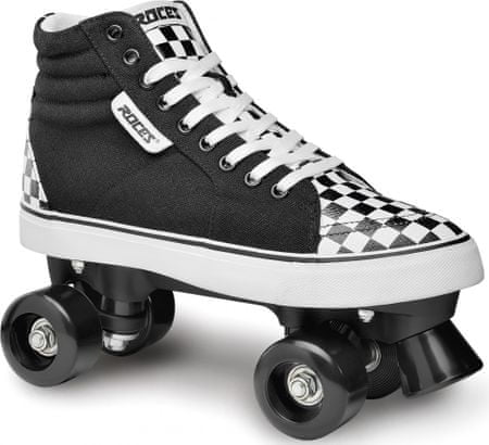 Roces rolerji Ollie Check Black/White 44, črno beli